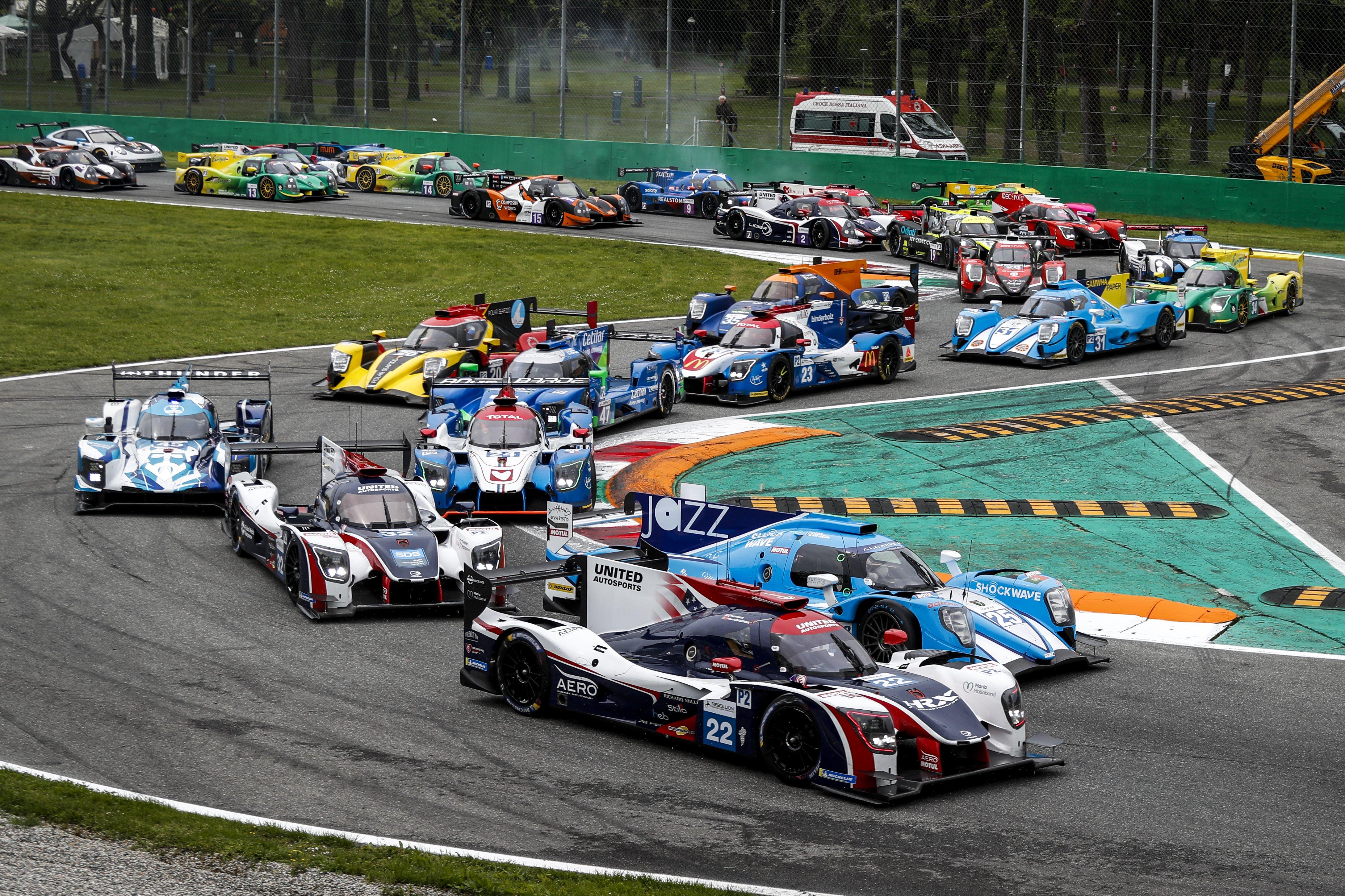 The Ligier JS P217s and Ligier JS P3s score a double ...