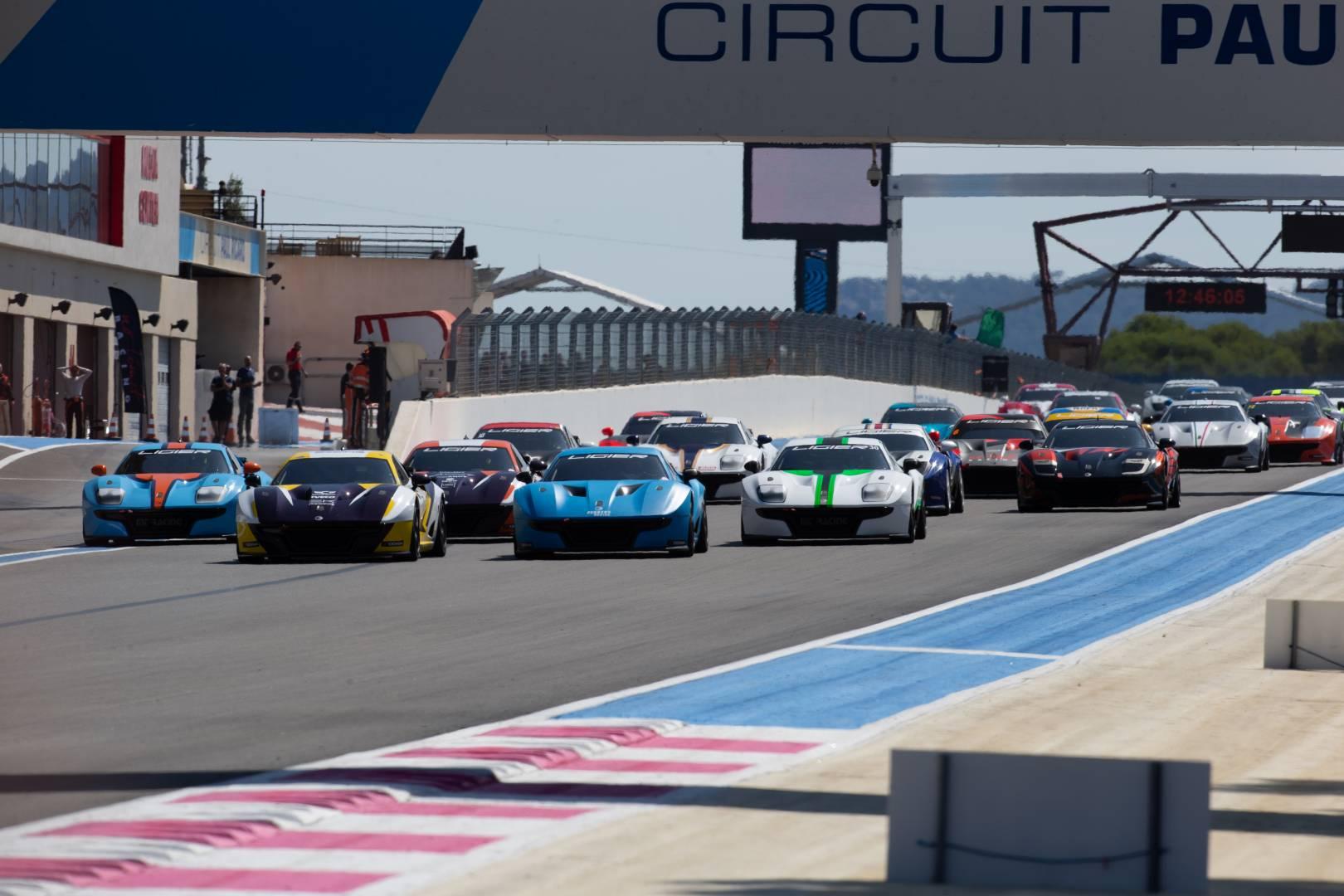 Ligier JS Cup France au Castellet