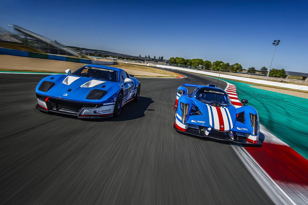 Ligier JS P4 et Ligier JS2 R